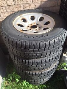 245/70/17 Winter rated tires 4 season with Rims