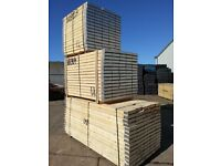 Bale of 70no. 8' Scaffold Planks only £595+vat £8.50/plank