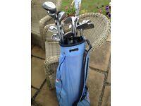 Ladies starter golf club set