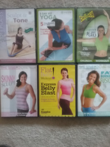 Work-out DVDs
