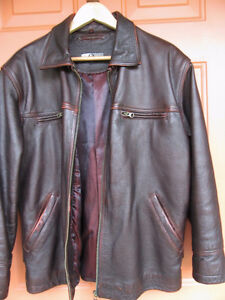 ORVIETO LEATHER BOMBER JACKET West Island Greater Montréal image 3