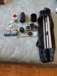 Nikon FE2 with accessories (Negotiable)