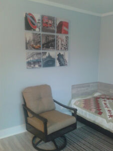 Room for rent from May1 in student's house