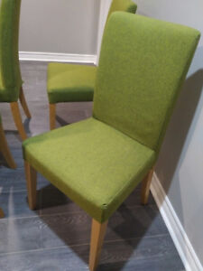 Urban Feel Moss Dining Chairs, set of 4