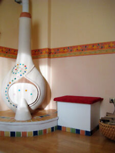 Handmade Clay Oven - superb heating abilities