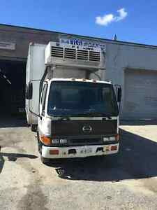 2003 Hino FB with reefer