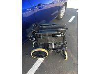 Light weight wheel chair easy to fold and carry