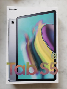 SAMSUNG GALAXY TAB S5E TABLET 64GB SILVER IN PERFECT CONDITION