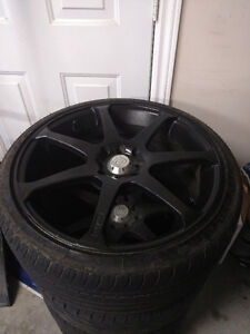 215/35R18 Rims with Tires