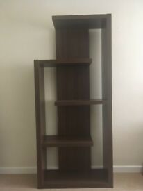Shelving ornamental unit