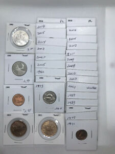 Canadian coins for sale - mixed lot