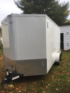 14ft cargo trailer. Made in Canada