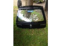 Vauxhall corsa c 2005 boot lid tailgate in black z20r fits 2001 to 2006 07594145438