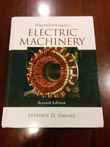 Electric Machinery by Kingsley, Fitzgerald, Stephen D. Umans