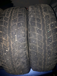 Reduced 70$ 2 tires for sale175 65 14
