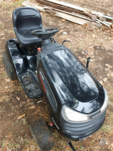 """24 hp craftsman tractor with 48"""" berco snowblower"""