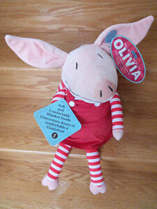 Olivia the Pig Zoobie Plush with Blanket - New with Tags