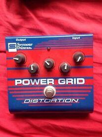 Seymour Duncan Power Grid Distortion Pedal