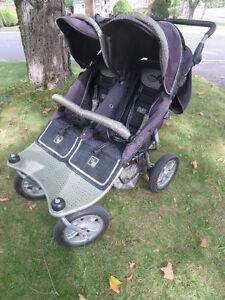 Valco Baby Roundabout Trimode Twin EX double stroller