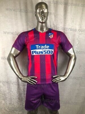 b1da8c0e036 UNIQUE Atletico Madrid Purple/Pink - 15 Soccer Uniforms (Uniformes de  Futbol)