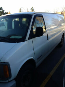 2002 GMC Savana 2500 Extension Van As Is