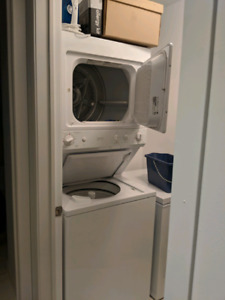 Stacked apartment washer dryer