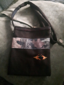 Camo crossbody purse