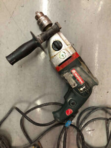 Percussion Hammer drill Metabo