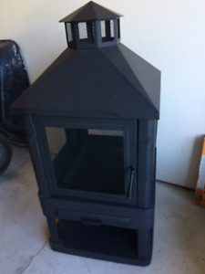 OUTDOOR FIREPLACE - NEW - NEVER USED