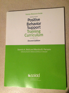 Positive Behaviour Support Training Curriculum, 2nd Edition