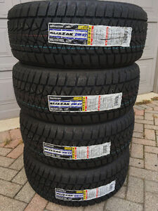 "18"" SNOW Tires  NEW Bridgestone BLIZZAK DM-V2 Winters 255/55R18"
