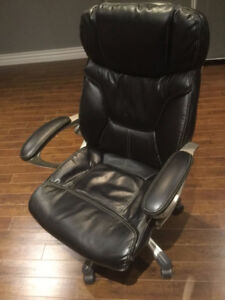 Top Quality Black Leather Computer Chair