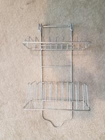 Shower hanger with racks