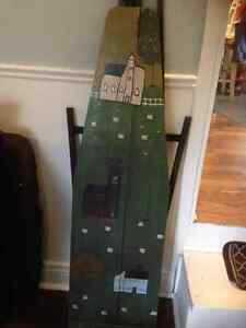 Folk Art on Ironing Board Kitchener / Waterloo Kitchener Area image 1