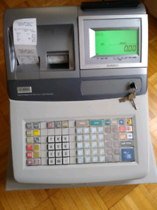 Casio TE-3000s Electronic Cash Register