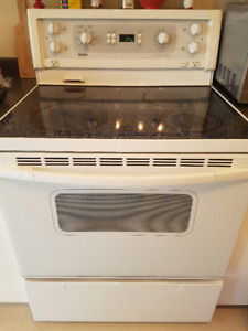 Kenmore oven/range with glass top