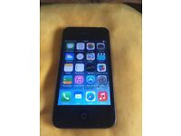 iPhone 4 - 32gb - locked to 02 - black - grade A condition