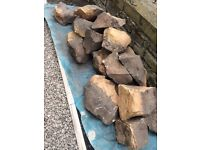 Stones for rockery or building project. Free to anyone who can collect.
