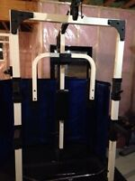 Weight Rack w/pulley system
