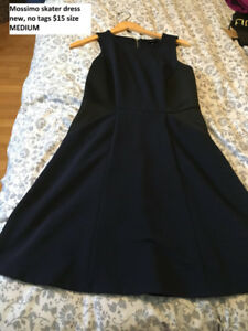 Mossimo skater dress with pockets NEW size medium