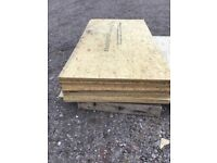 Timber OSB external new boards.