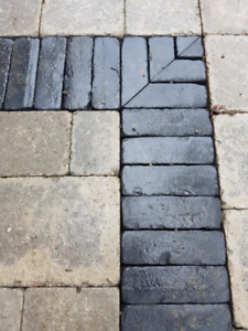 Unilock Copthorne Pavers - Basalt Colour - 80 Pieces