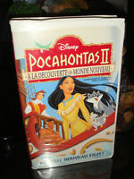 VHS-WALT DISNEY-POCAHONTAS 2-FILM/MOVIE