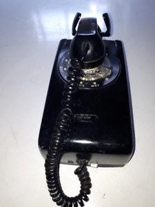 Classic Rotary Dial Wall Mount Telephone