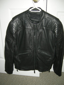 Woman's Medium Harley Davidson Leather Coat with Liner
