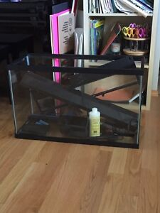 30 gallon fish tank with extras and stones $125 OBO