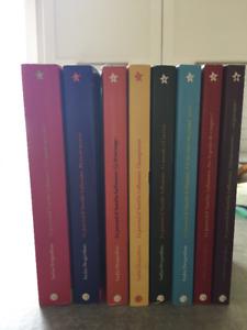Série de 8 livres d'Aurélie Laflamme