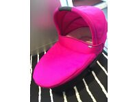 Zoom carry cot pink