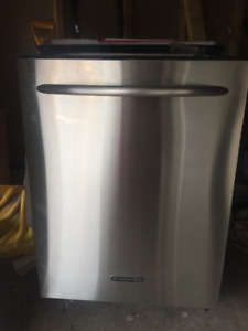 KitchenAid stainless steel inside out dishwasher for sale