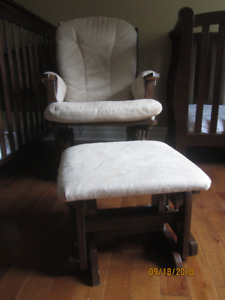 Solid wood Rocking chair and Bench
